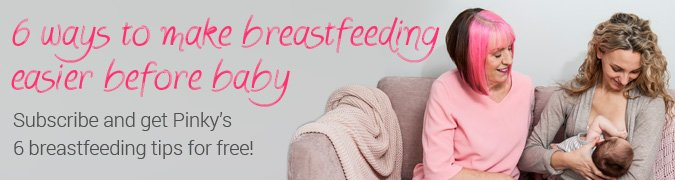 6 Ways to Maker Breastfeeding Easier Before Baby Banner Wide