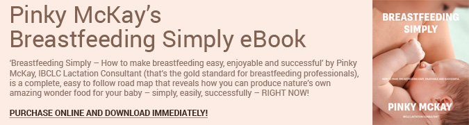 Breastfeeding Simply eBook Banner wide
